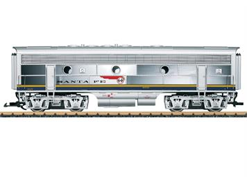 "LGB 20587 Diesellok der Bauart F7 B-Unit ""SANTA FE"" mit der Blue-Bonnet Lackierung, G IIm"