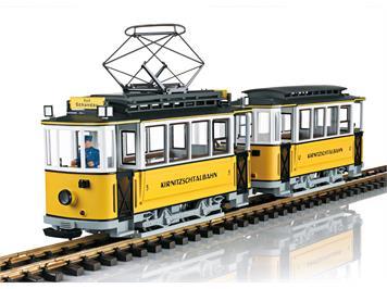 LGB 23363 Triebwagenzug Kirnitzschtalbahn, mfx/DCC mit Sound, Spur G IIm (1:22,5)