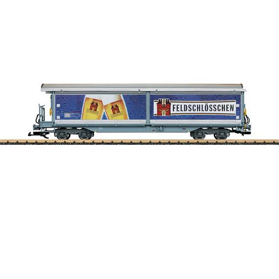 """LGB 48572 RhB Schiebewandwagen """"Feldschlösschen"""""""
