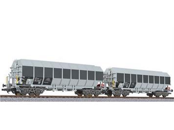 Liliput 230152 Wagen für Tonerde, Uacos, ERMEWA (2 Stk.) HO