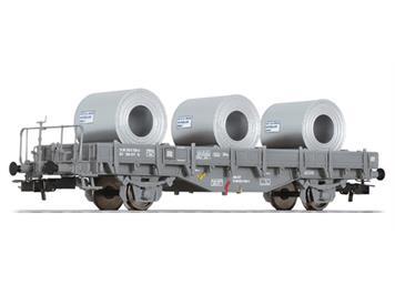 Liliput 235052 SBB Flachwagen grau Typ Fs beladen mit Colis