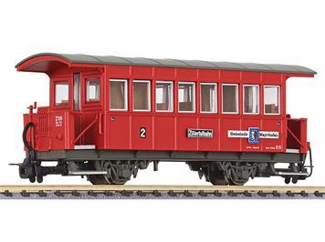 """Liliput 344352 Zillertalbahn Perswagen Bi13, """"Mayrhofen"""" HOe"""