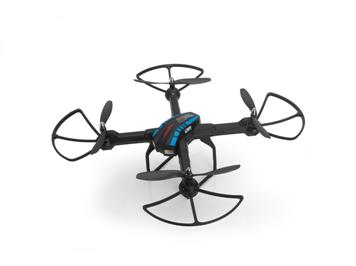 LRP 220712 Gravit Dark Vision 2,4 GHz Quadrocopter mit Full-HD-Action-Camera