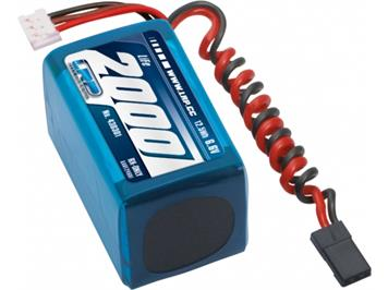 LRP 430301 VTEC LiFePo 2000 RX-Pack 2/3A Hump - RX-only - 6,6V