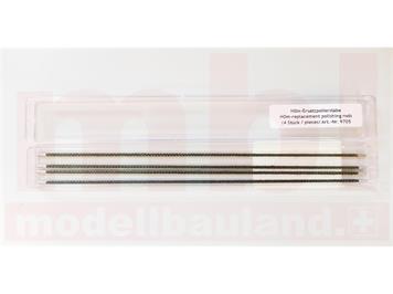 LUX 9705 Reinigungsstäbchen (4) für H0m-Radreinigungs-Anlage