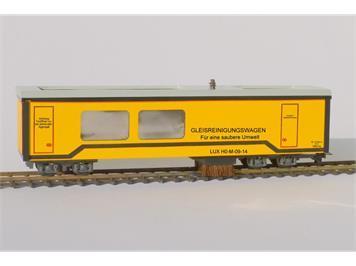 LUX 9725 HOm-Gleisstaubsauger mit SSF-09-Elektronik & Faulhabermotor
