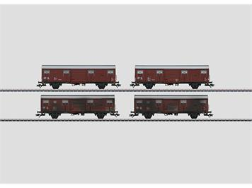 "Märklin 00779 DB Güterwagen ""Spundwandwagen"" gealtert"