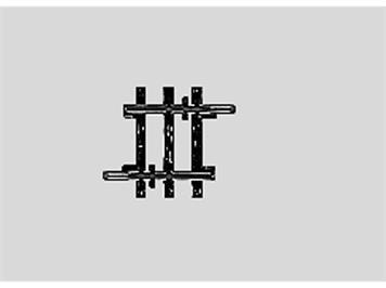 Märklin 2204 Gleisstück gerade 22,5 mm, H0