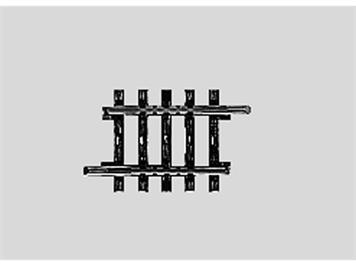 Märklin 2208 Gerades Gleis Ausgleichsstück, Länge 35,1 mm, H0