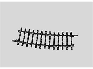 Märklin 2223 Gleis gebogen. Länge 1/2 = 15°, H0