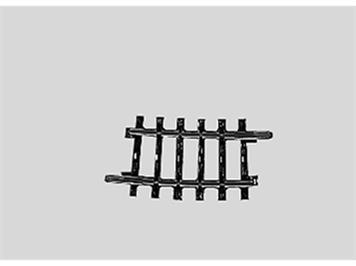 Märklin 2224 Gleis gebogen Länge 1/4 = 7° 30'.