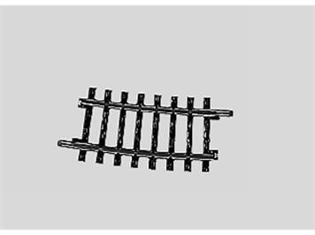 Märklin 2234 Gleis gebogen Länge 1/4 = 7° 30'.