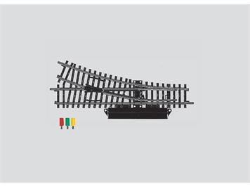 Märklin 2263 K-Gleis Weiche rechts mit elektrischem Antrieb, H0