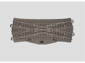 Märklin 24624 C-Gleis Doppelkreuzungsweiche 188,3 mm / 24,3°, H0 (1:87)