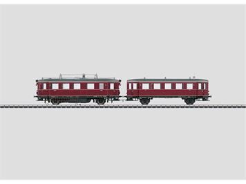 Märklin 37705 Dieseltriebwagen mit Beiwagen VT75.9 und VB140 DB mit Sound