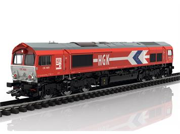 Märklin 39060 Diesellok Class 66 der Güterverkehr Köln AG (HGK), mfx+/DCC mit Sound, H0