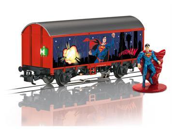 Märklin 44825 Start up - Gedeckter Güterwagen Superman, H0 (1:87)