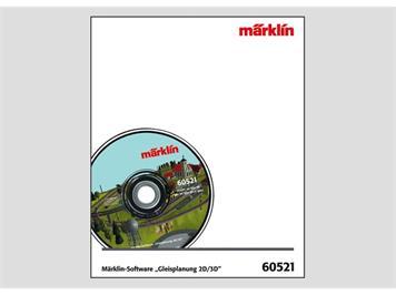 """Märklin 60521 Märklin-Software """"Gleisplanung 2D/3D"""", Version 9.0"""