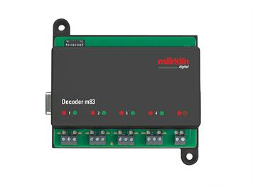 Märklin 60832 Decoder m83, Digitalformate Motorola, mfx und DCC