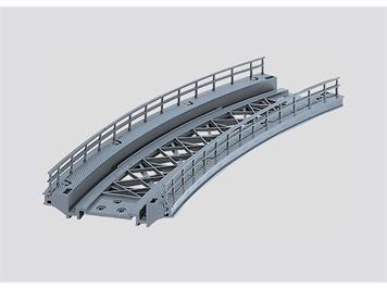 Märklin 7267 Gebogenes Rampenstück, für Kunststoff- oder Metallgleisen, H0