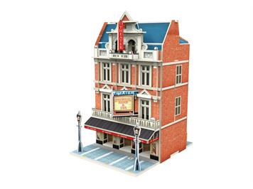"Märklin 72782 Start up - 3D Gebäude-Puzzle ""Theater"" HO"