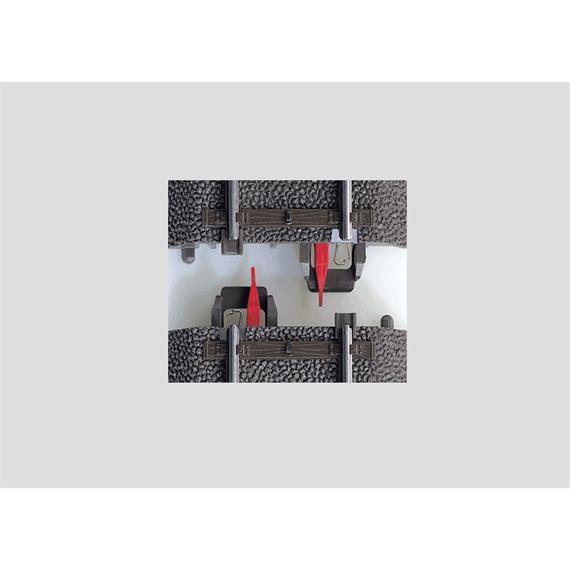 Märklin 74030 C-Gleis Mittelleiter-Isolierung (8 Stück), H0