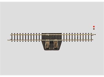Märklin 8590 Anschlussgleis gerade, Länge 110 mm, Spur Z (1:220)