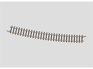 Märklin 8591 gebogenes Gleis, Gegenbogen zu Weichen 13°, r 490 mm, Spur Z