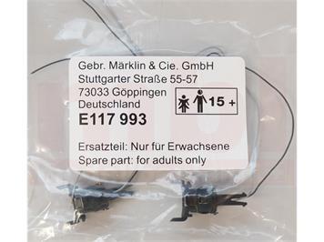Märklin E117993 Telexkupplung für V90, 2 Stück, H0 (1:87)