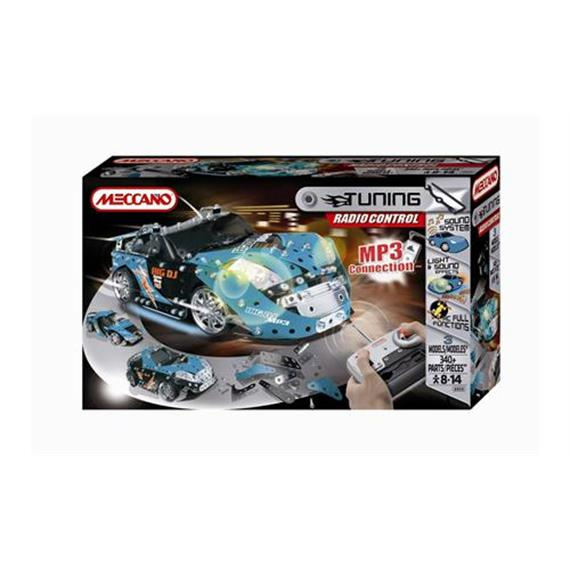 Meccano TUNING RC Sound System (3 Modelle/340 Teile, 8 - 14 Jahre)