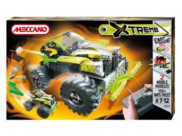 Meccano XTreme RC 4X4 Power RC (2 Modelle/110 Teile, 7 - 12 Jahre)