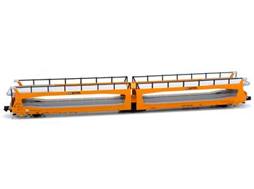 MFTrain 33274 SBB Autoverladewagen TA370 SITFA, orange, N