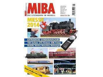 MIBA 1401401 - Messeheft 2014 - extra dicke Sonderausgabe