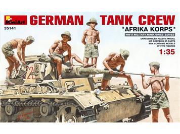 "MiniArt 35141 German Tank Crew ""Afrika Korps"" 1:35"