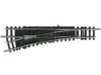 Minitrix 14938 Links-Weiche 15° polarisiert, N (1:160)