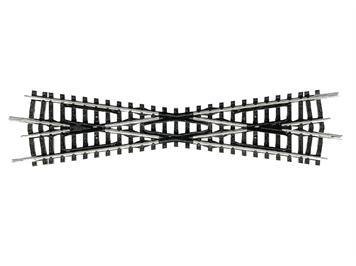 Minitrix 14973 Kreuzung 15°, Länge 129,8 mm, N (1:160)