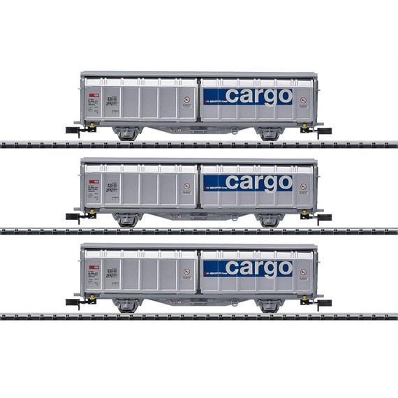 Minitrix 15282 Güterwagen-Set SBB Cargo (3) N