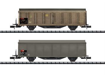 Minitrix 15307 Schiebewandwagen-Set SBB