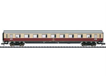 """Minitrix 18414 Schnellzugwagen """"IC 142 Germania"""", der DB, Bauart Avümz 111, N (1:60)"""
