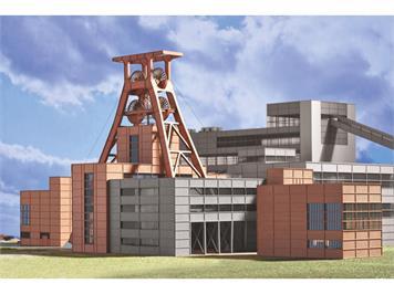 """Minitrix 66310 Bausatz Zeche Zollverein 1 """"Förderanlage"""" N"""
