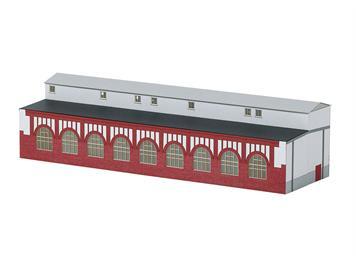 Minitrix 66319 Bausatz Werkstattanbau E-Lokschuppen N