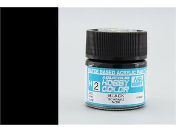 Mr. Hobby (Gunze Sangyo) H-002 schwarz glanz