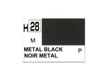 Mr. Hobby (Gunze Sangyo) H-028 metall schwarz