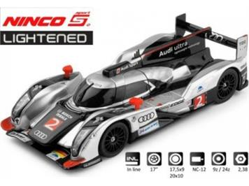 Ninco 50612 Audi R18 Le Mans Winner 2011 Lightenend
