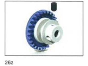Ninco 80238 1 x In Line ProRace Evo Kronzahnrad 26z 3/32'' blau