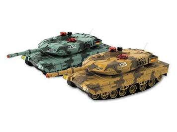 Ninco Havyduty 10002 Combat Fighters 2 x Leopard Panzer