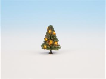 Noch 22111 beleuchteter Weihnachtsbaum grün mit 10 LED