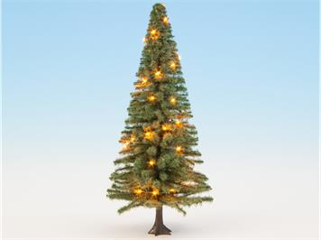 Noch 22131 beleuchteter Weihnachtsbaum grün mit 10 LED