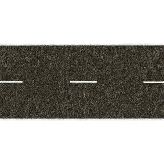 NOCH 34100 Landstraße, grau, 29 mm breit, in 2 Rollen à 1 m, Spur N