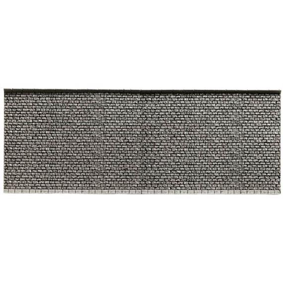 NOCH 34855 Mauer extra lang Steinmauer, 39,6 x 7,4 cm, PROFI plus Spur N